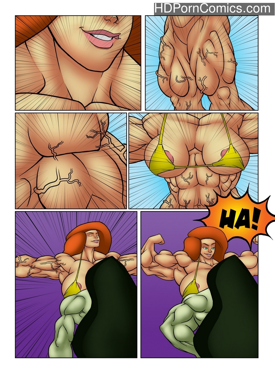 Muscle Contest 11 free sex comic
