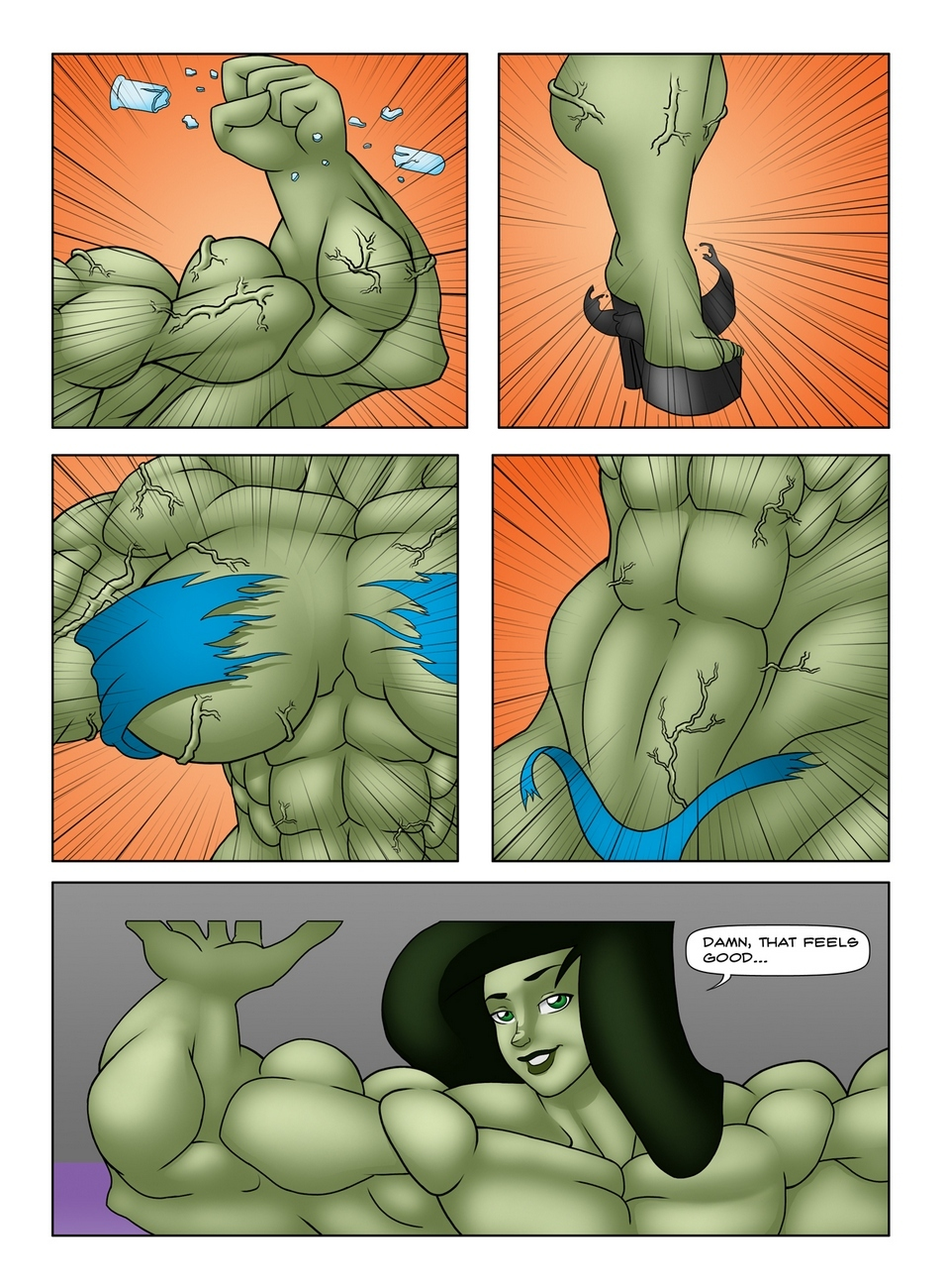 Muscle Contest 13 free sex comic