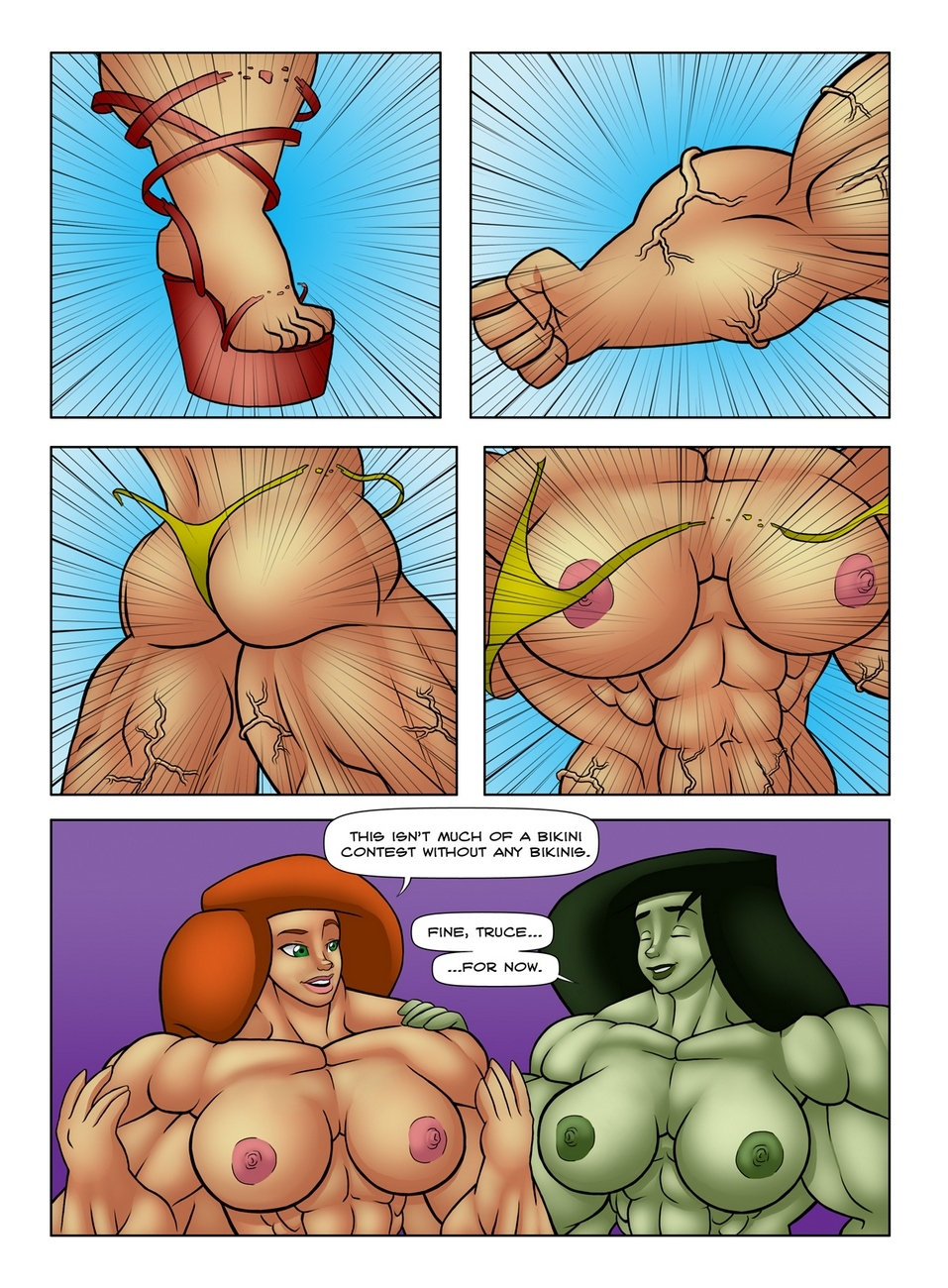Muscle Contest 15 free sex comic