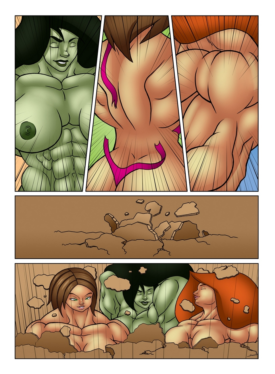 Muscle Contest 20 free sex comic
