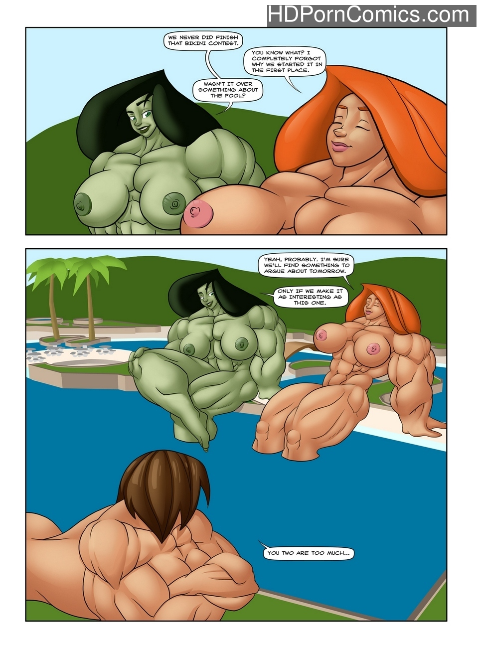 Muscle Contest Sex Comic