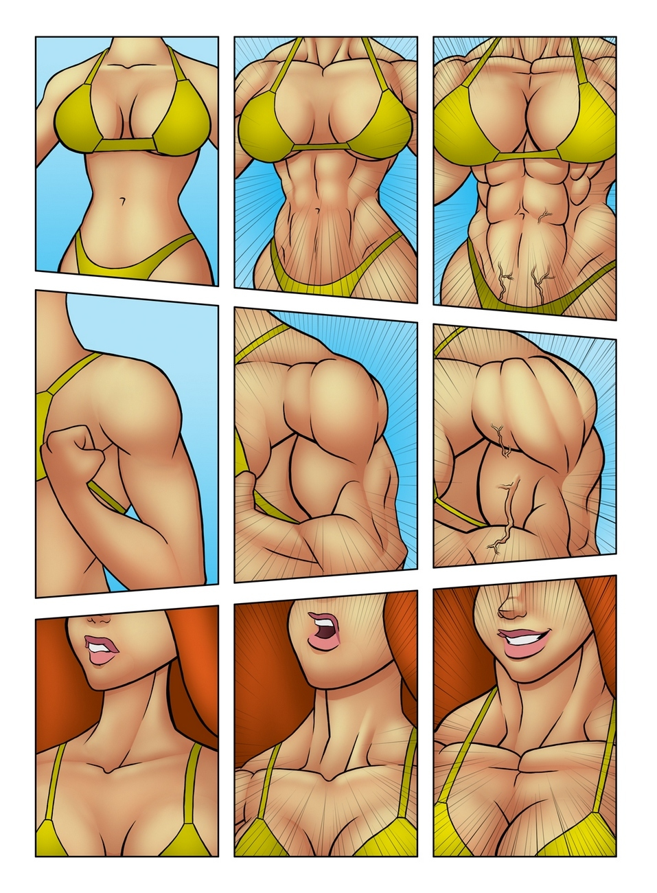 Muscle Contest 6 free sex comic