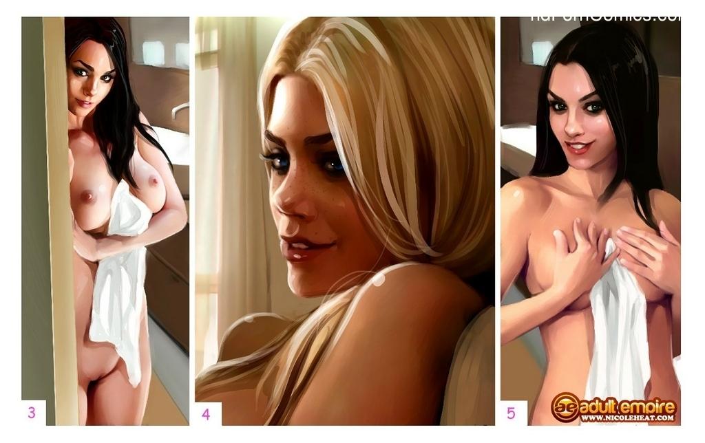 My Cutie Catherine - Nicole Heat 3 free sex comic