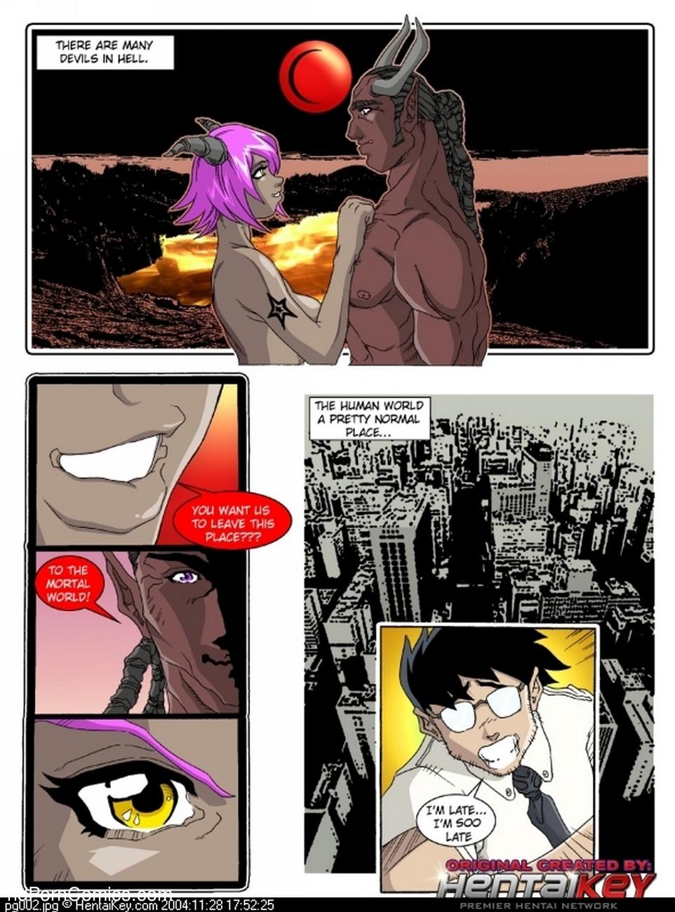 My Dear Devil 1 - A Hells Life 2 free sex comic