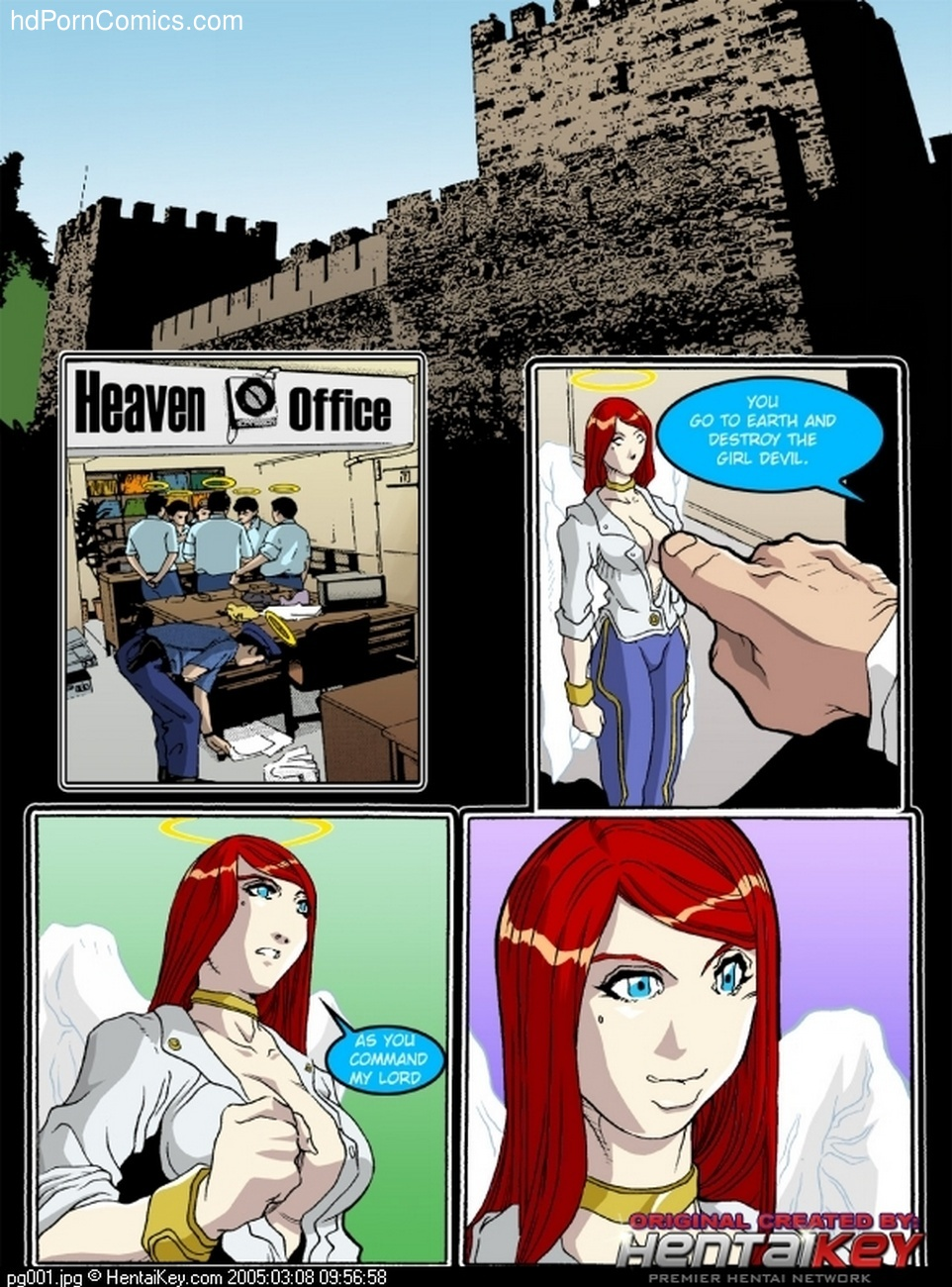 My Dear Devil 2 - My Angel Enemy 2 free sex comic