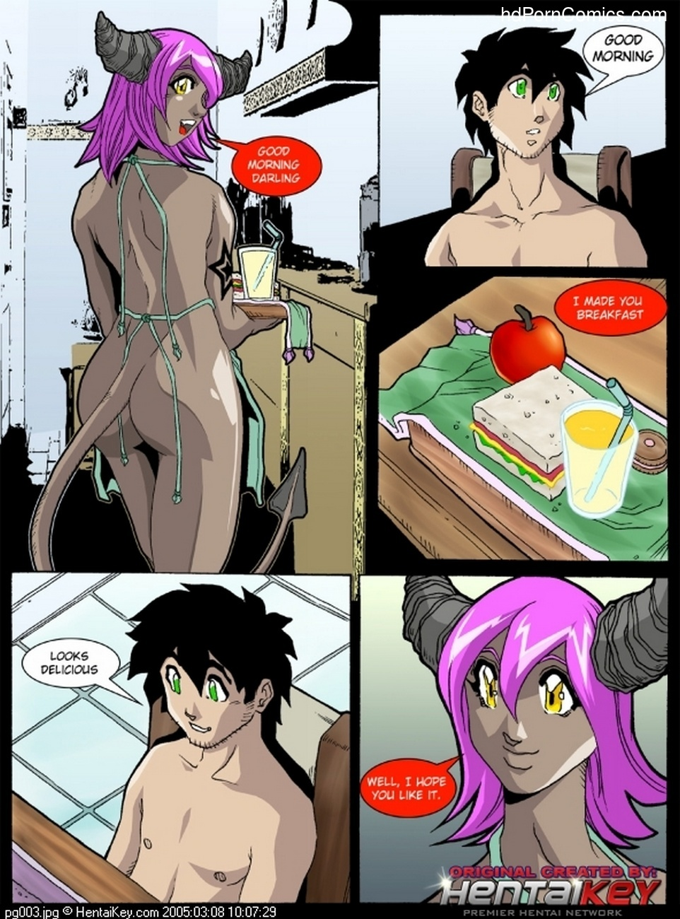 My Dear Devil 2 - My Angel Enemy 4 free sex comic
