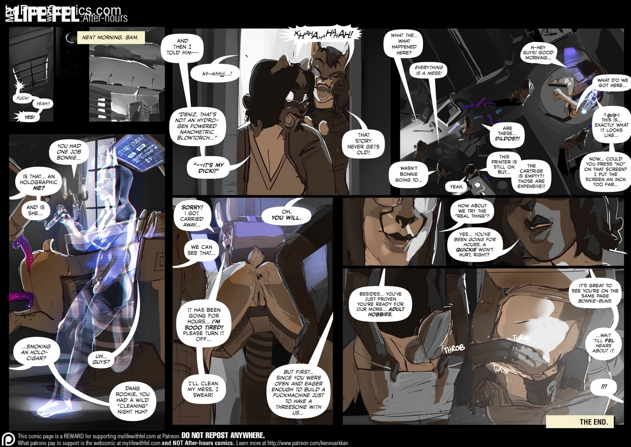 My Life With Fel – After-Hours 10 Sex Comic