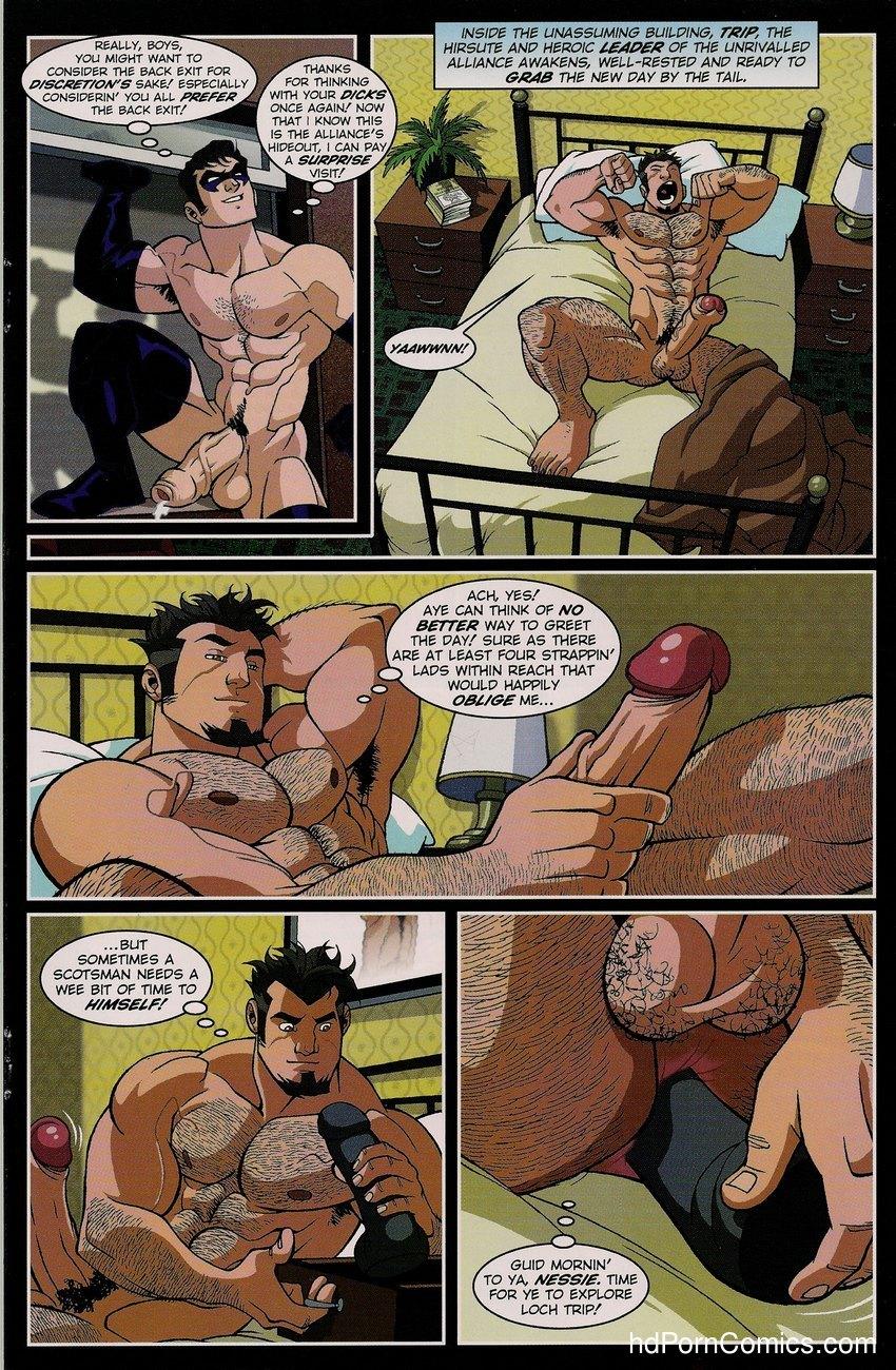naked justice dick comics