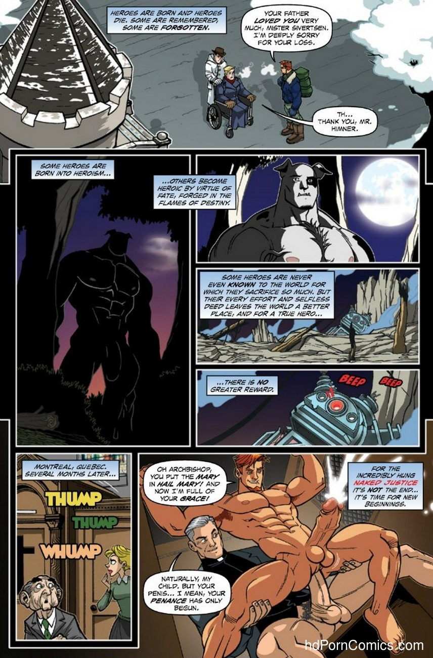 Naked Justice – Beginnings 3 Sex Comic