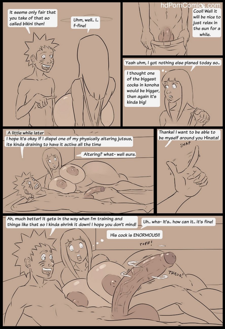 Naruto And Hinata's Sunbathing Experience 5 free sex comic