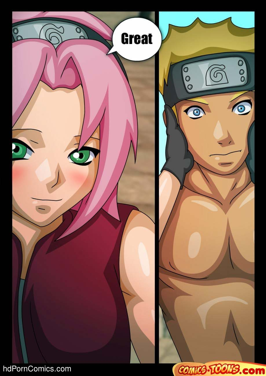 Naruto & Sakura Sex Comic