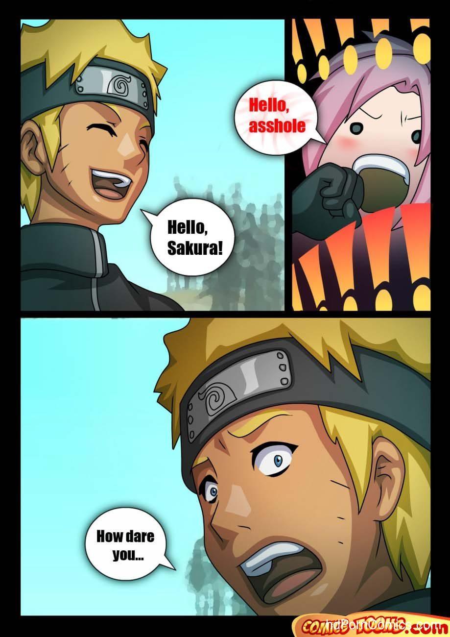 Naruto & Sakura 2 free sex comic