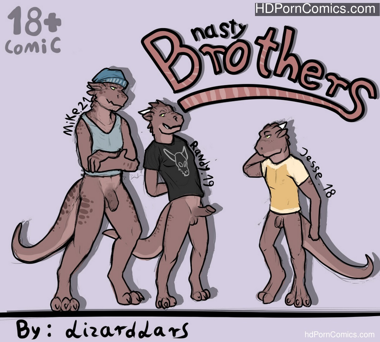 Nasty Brothers Sex Comic