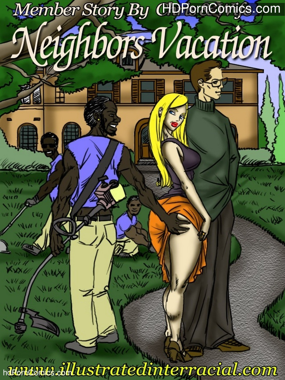 Neighbors Vacation Sex Comic