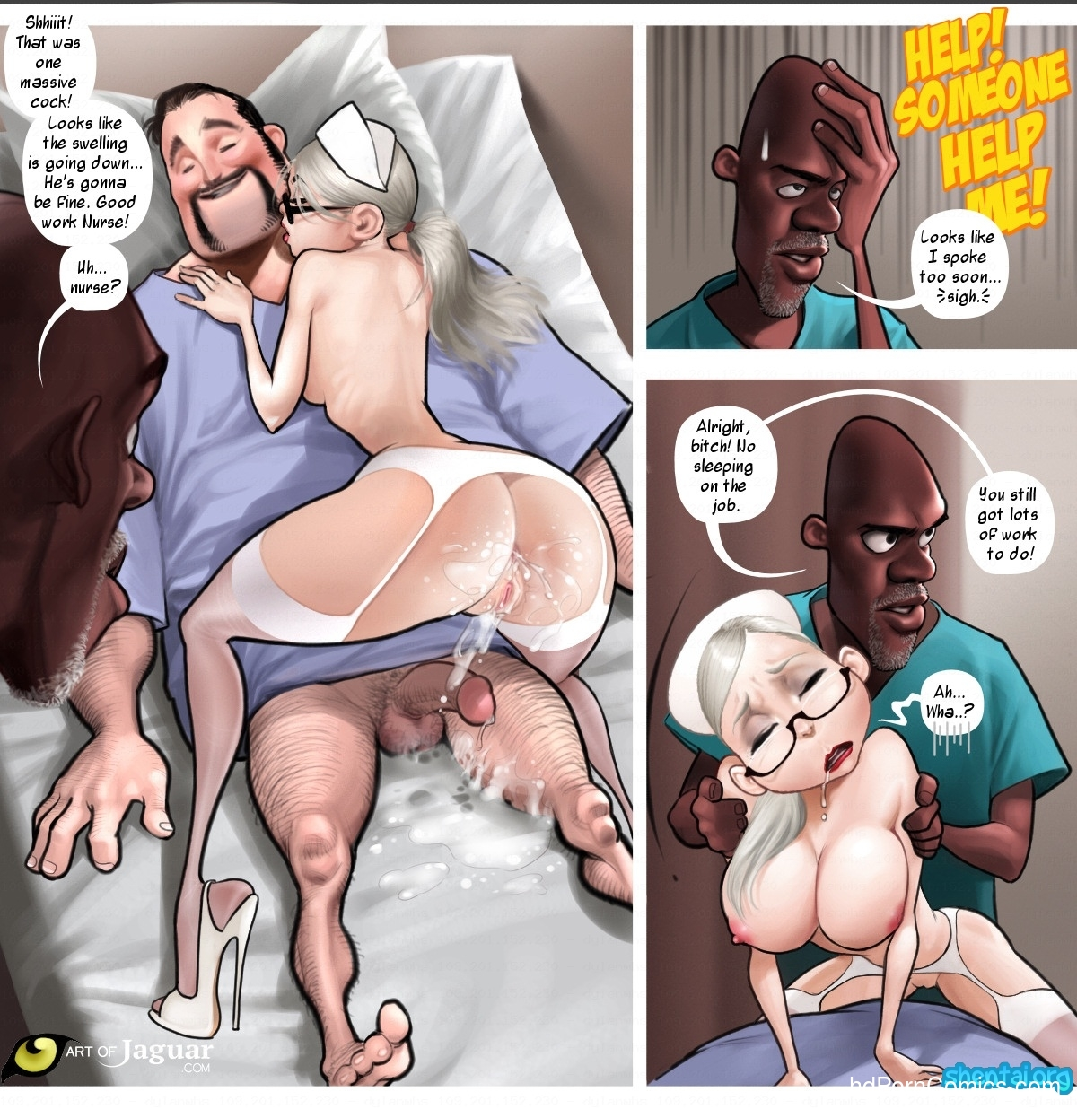 Night Nurse 119 free sex comic