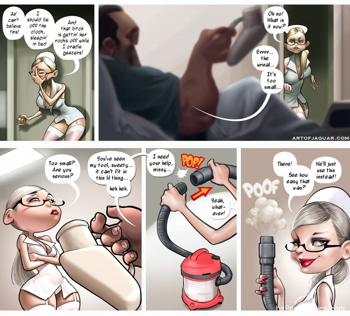 Night Nurse 13 free sex comic