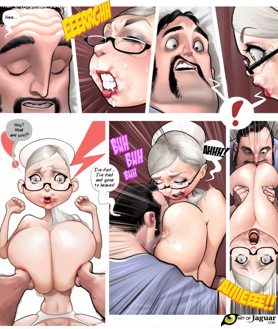 Night Nurse Sara 18 free sex comic