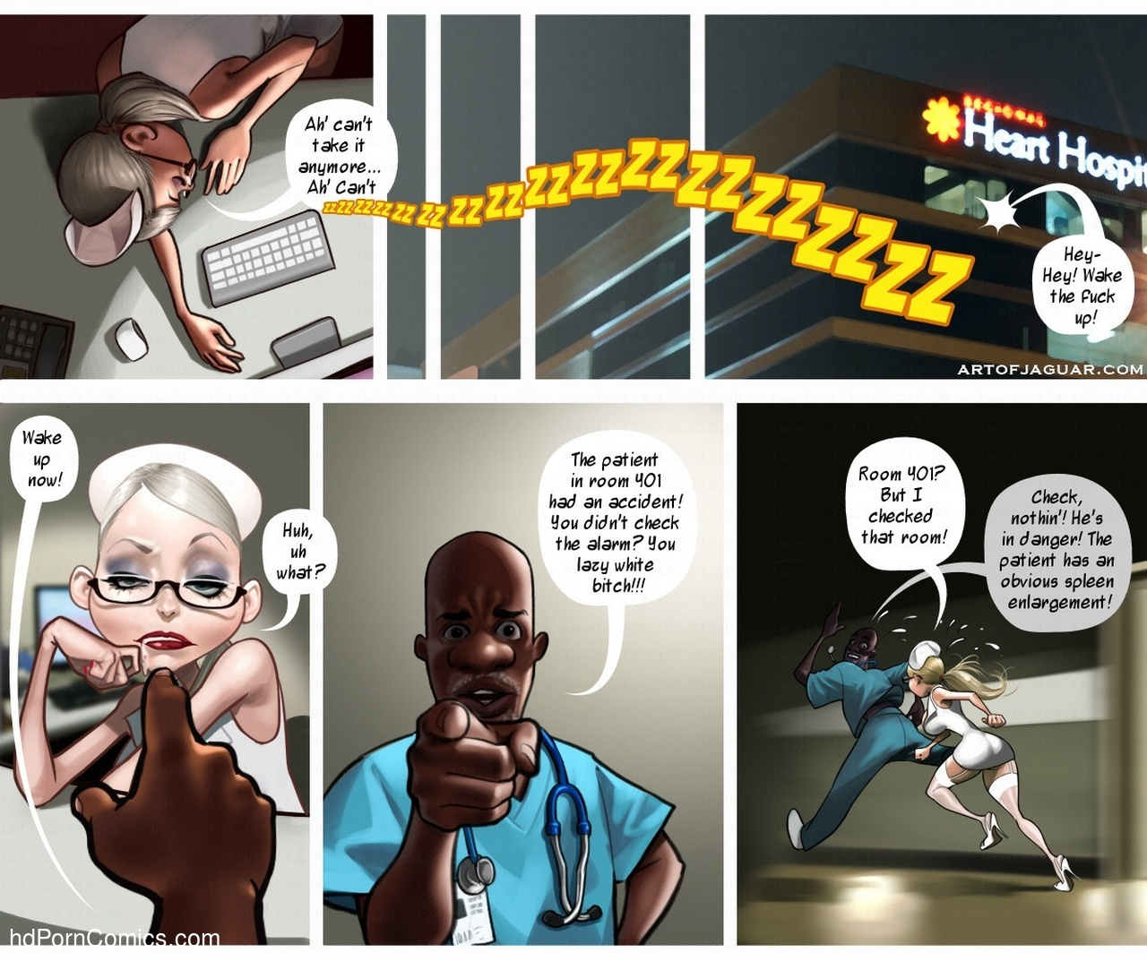 Night Nurse Sara 6 free sex comic