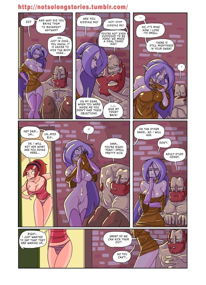 Not So Long Stories free Porn Comic