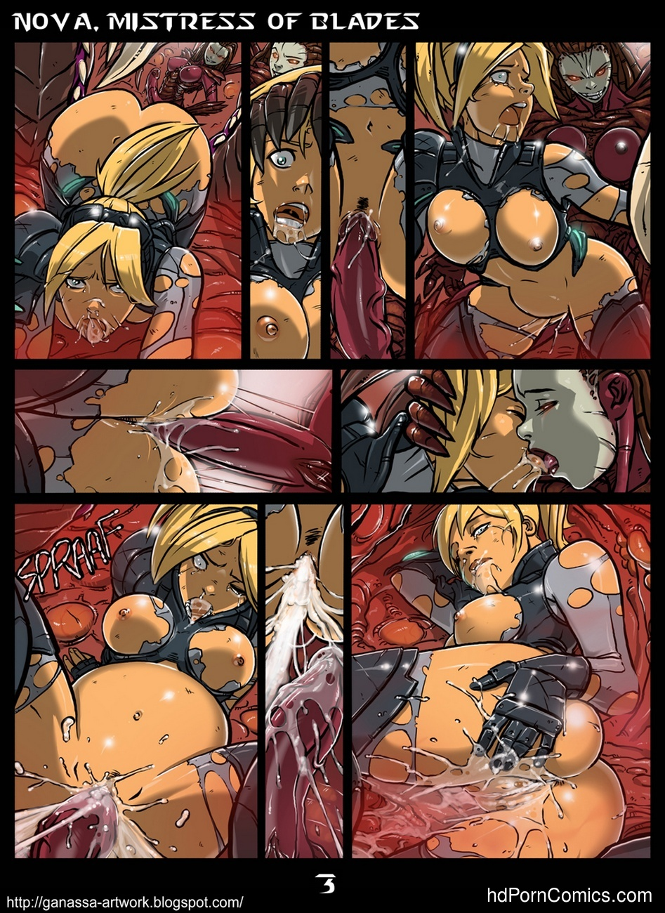 Nova, Mistress Of Blades 4 free sex comic