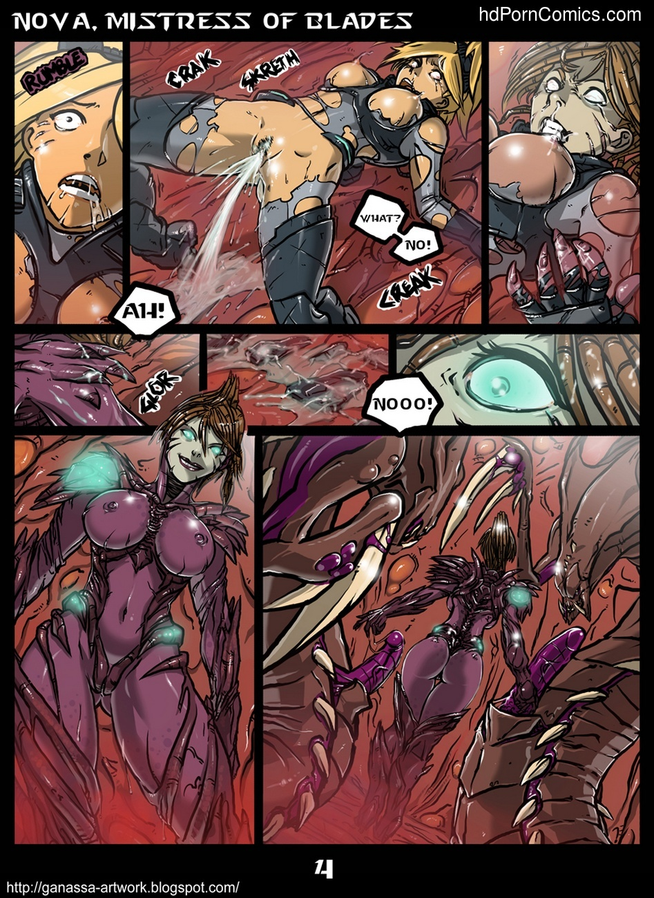 Nova, Mistress Of Blades 5 free sex comic