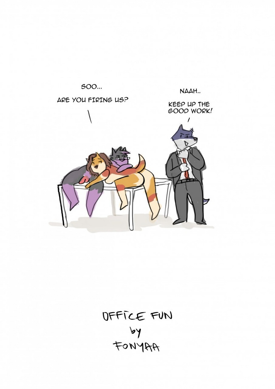 Office Fun Sex Comic