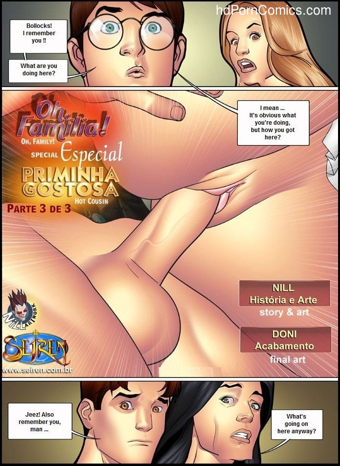 Oh Familia & Hot Cousin Special - Part 32 free sex comic
