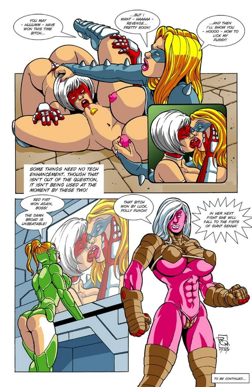 Omega Fighters 1 – Red Fist VS Dimension Sex Comic