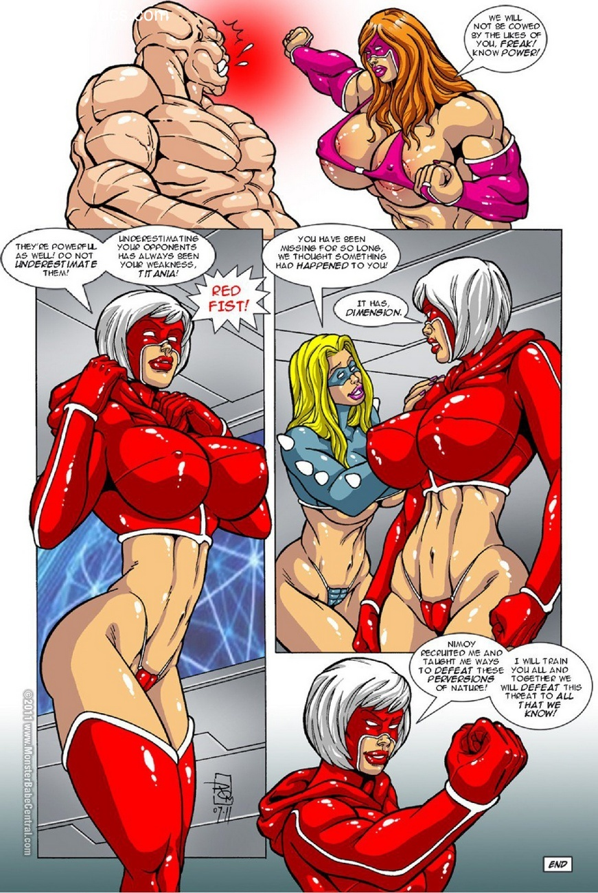 Omega Fighters 11 Sex Comic
