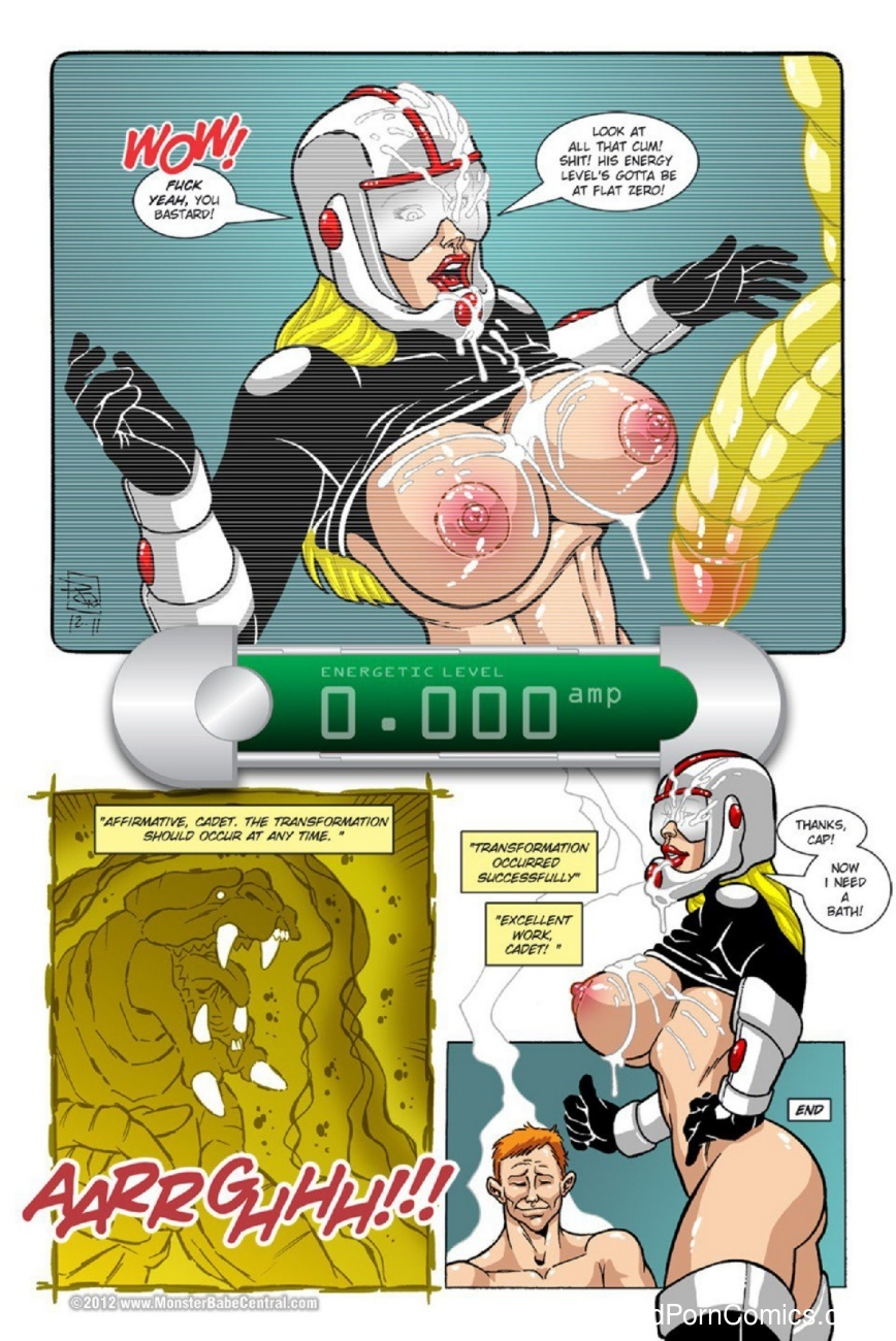 Omega Fighters 16 Sex Comic