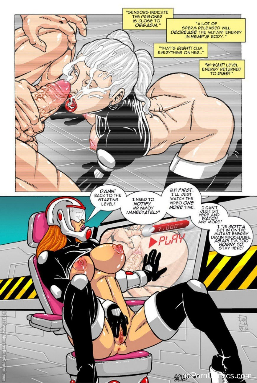 Omega Fighters 18 comic porn