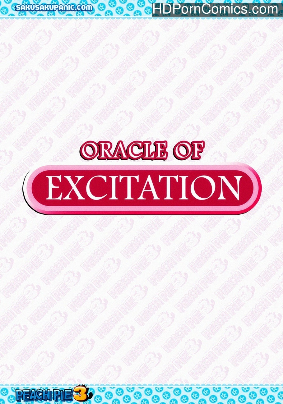 Oracle Of Excitation Sex Comic