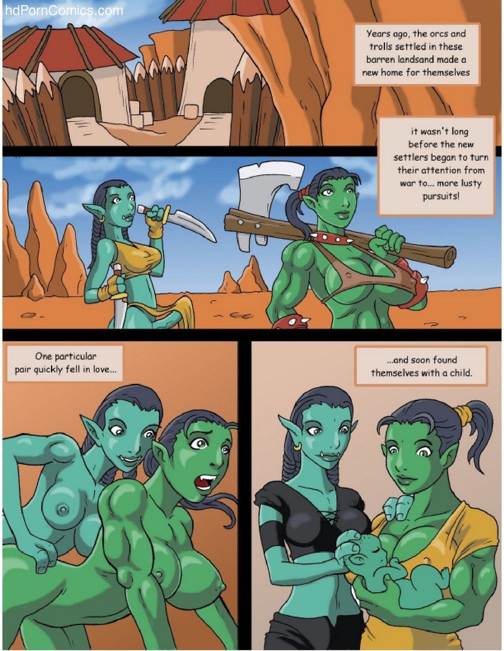 Orc Mom 2 free sex comic