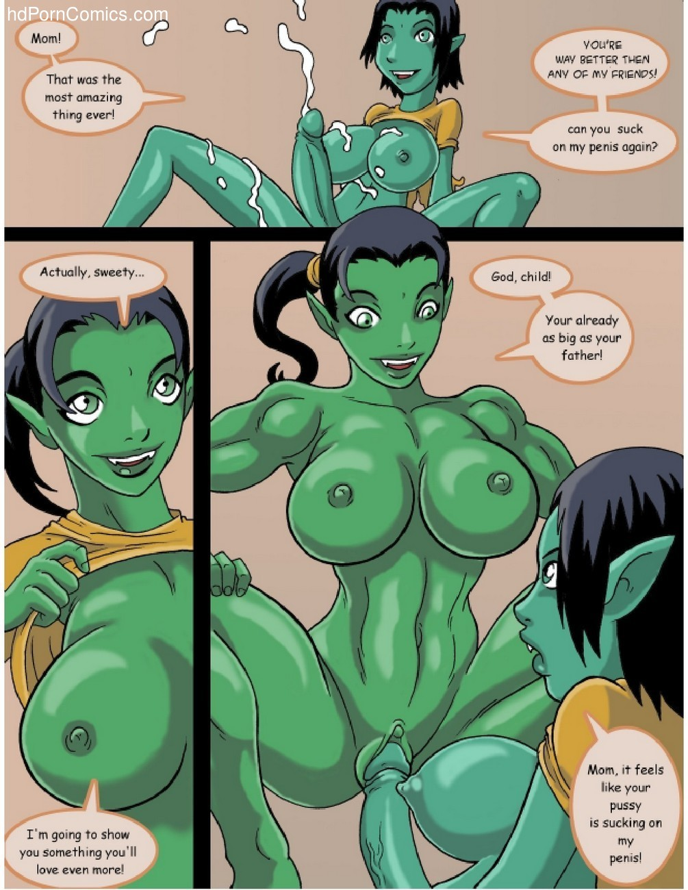 Orc Mom 6 free sex comic