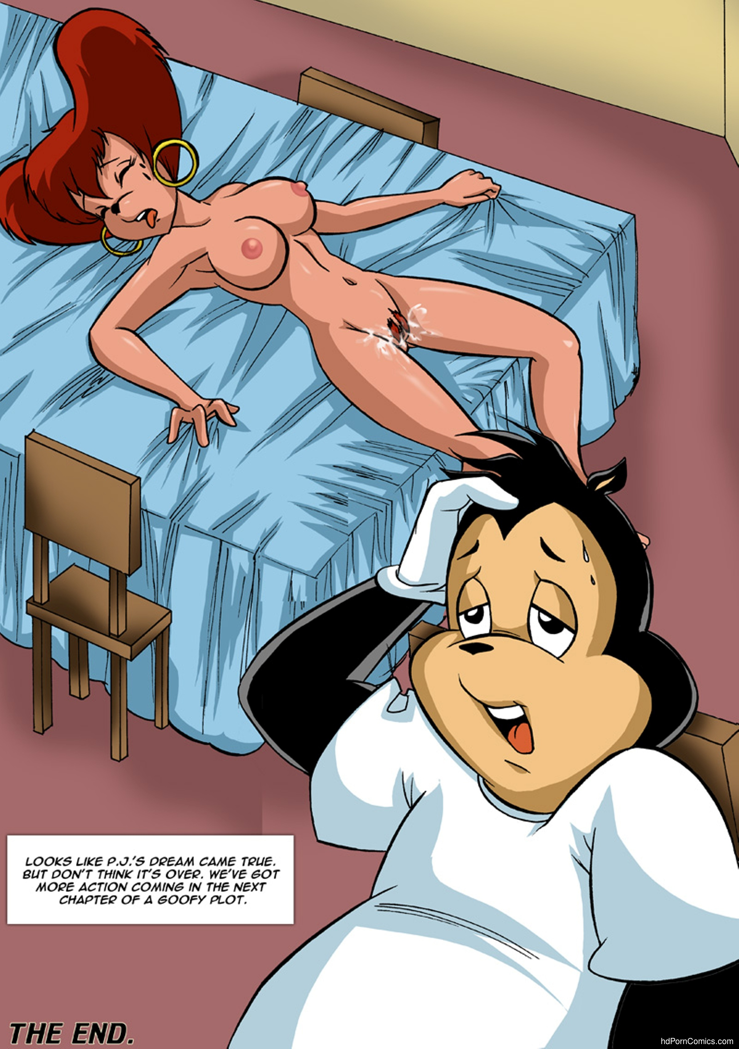 Pal Comix- Goof Troop 1-3 free Cartoon Porn Comic