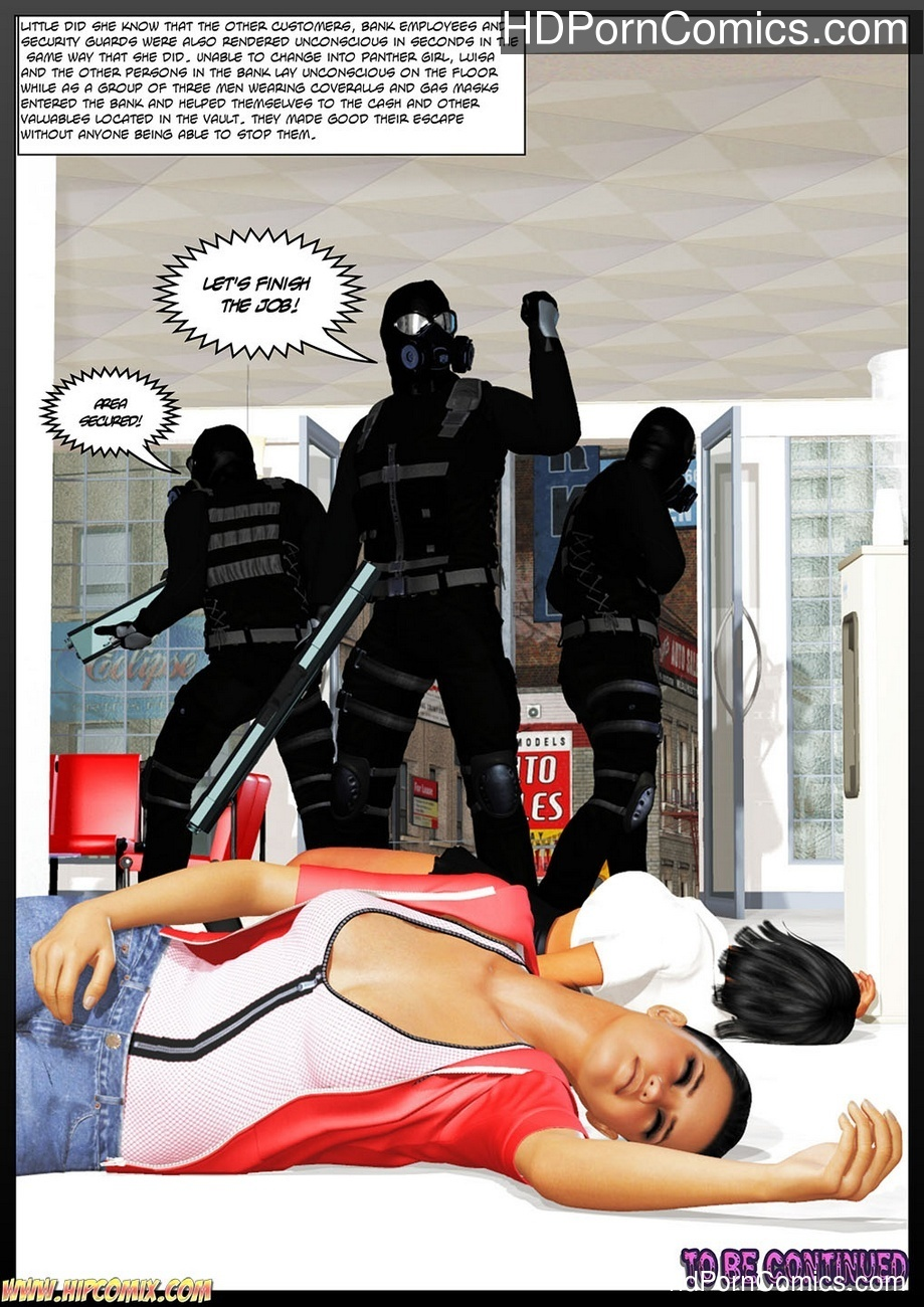 Panther Girl 1 Sex Comic