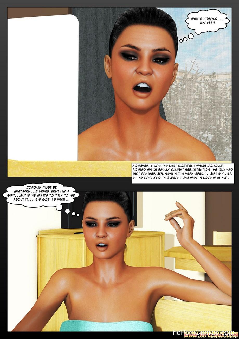 Panther Girl 3 4 free sex comic