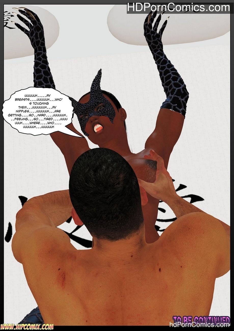 Panther Girl 5 Sex Comic