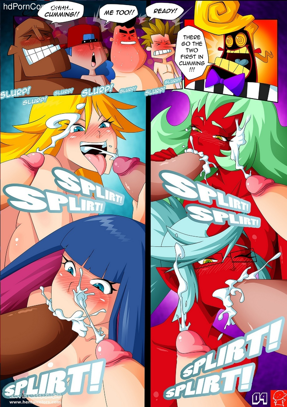 Panty & Stocking Angels vs Demons 5 free sex comic