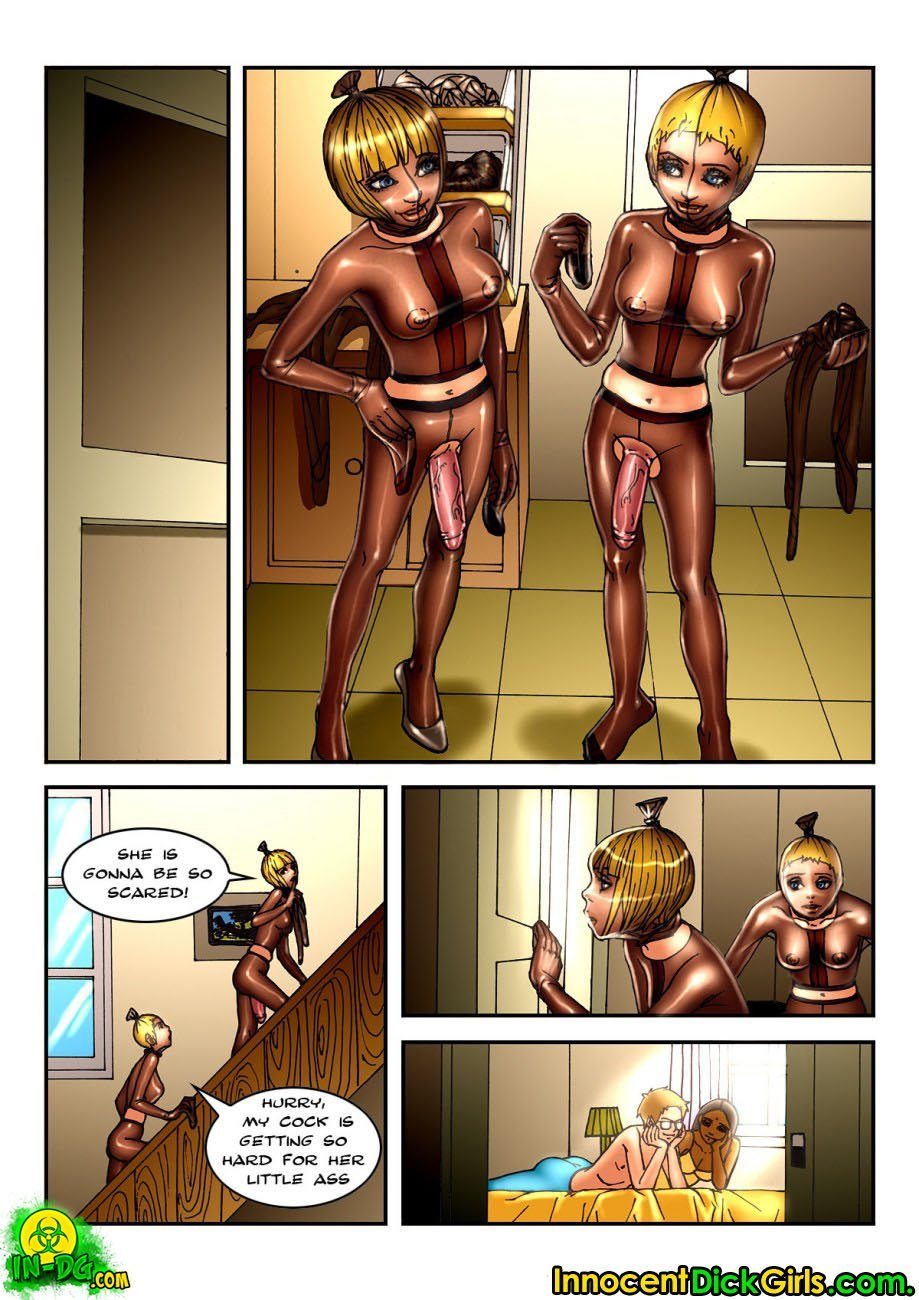 Pantyhose Burglars 6 free sex comic