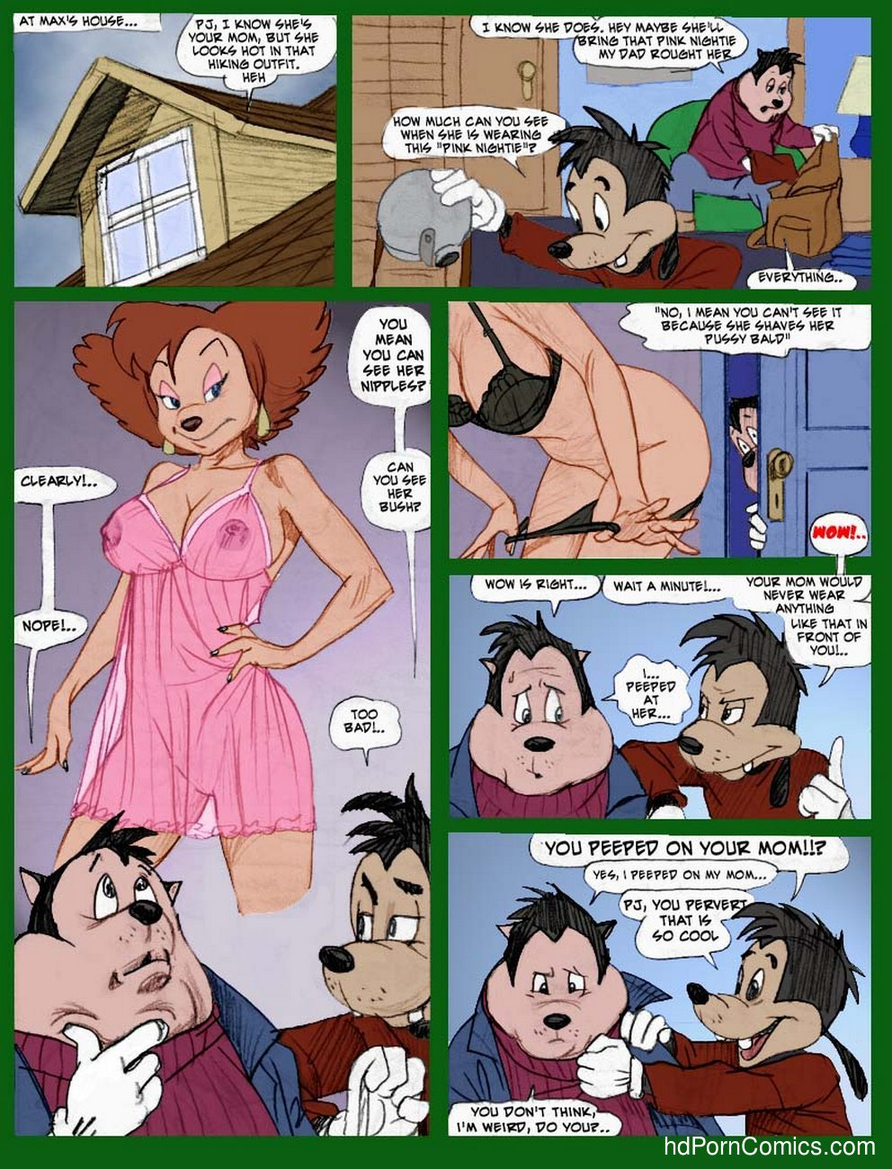 Peggy Cums Camping 4 free sex comic