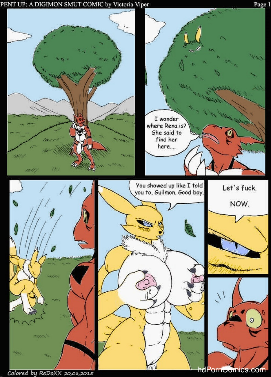 Pent Up - A Digimon Smut Comic 2 free sex comic