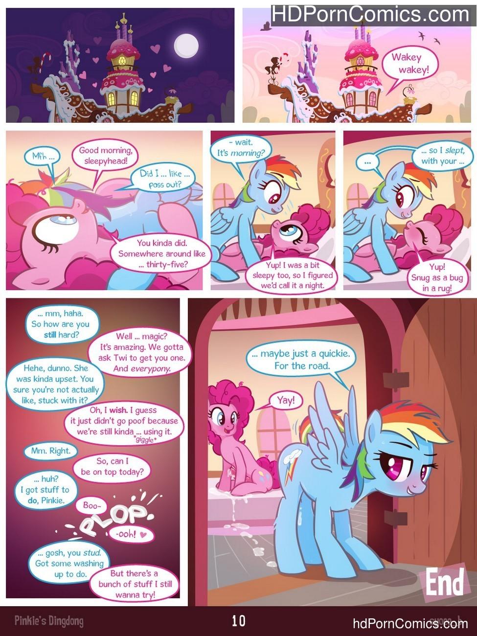 Pinkie's Dingdong Sex Comic