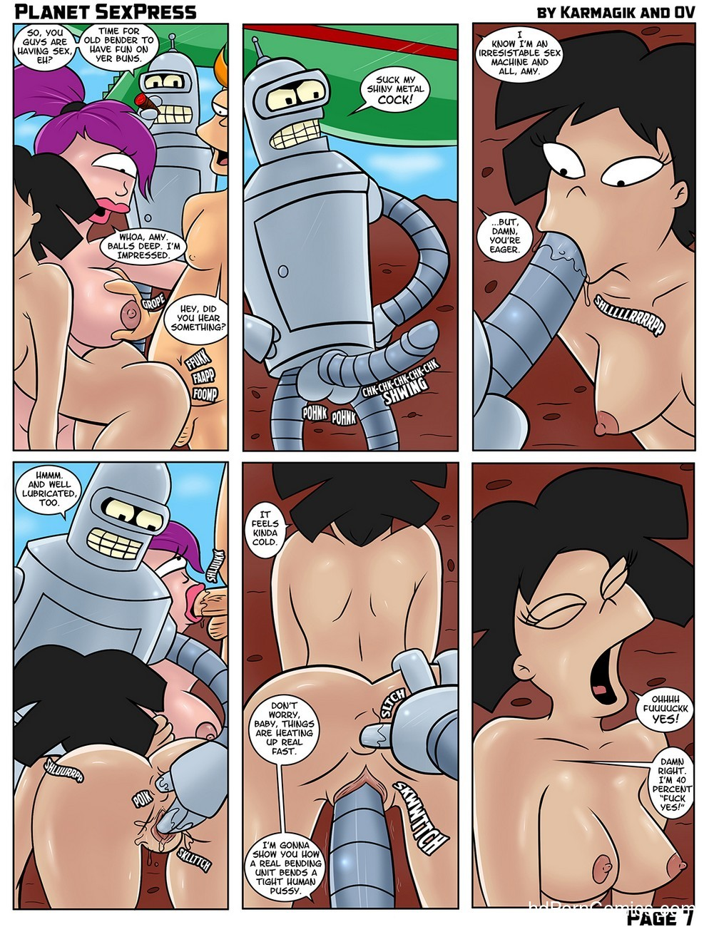 Planet SexPress 8 free sex comic