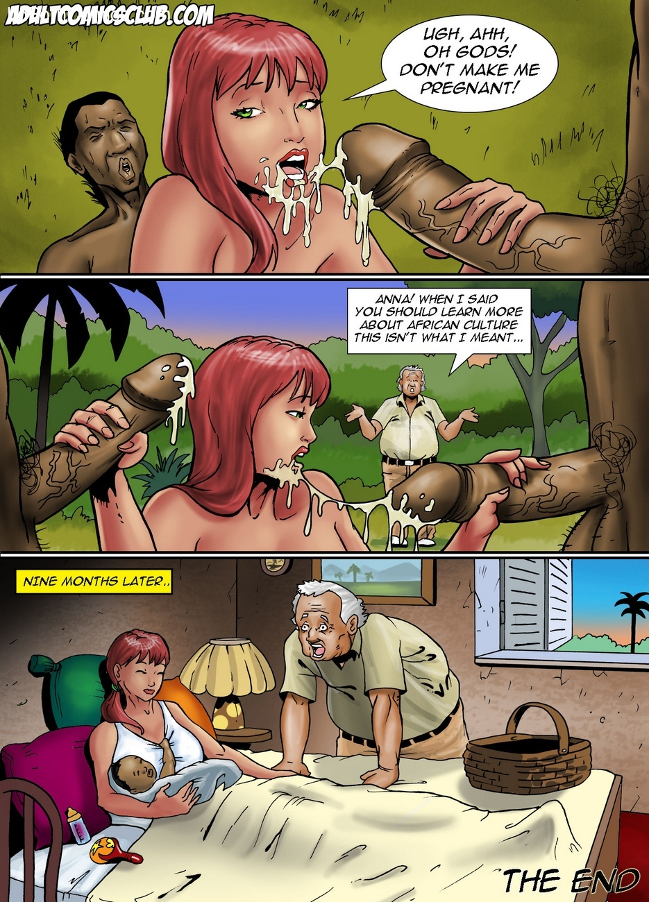 Plantation Bride Sex Comic