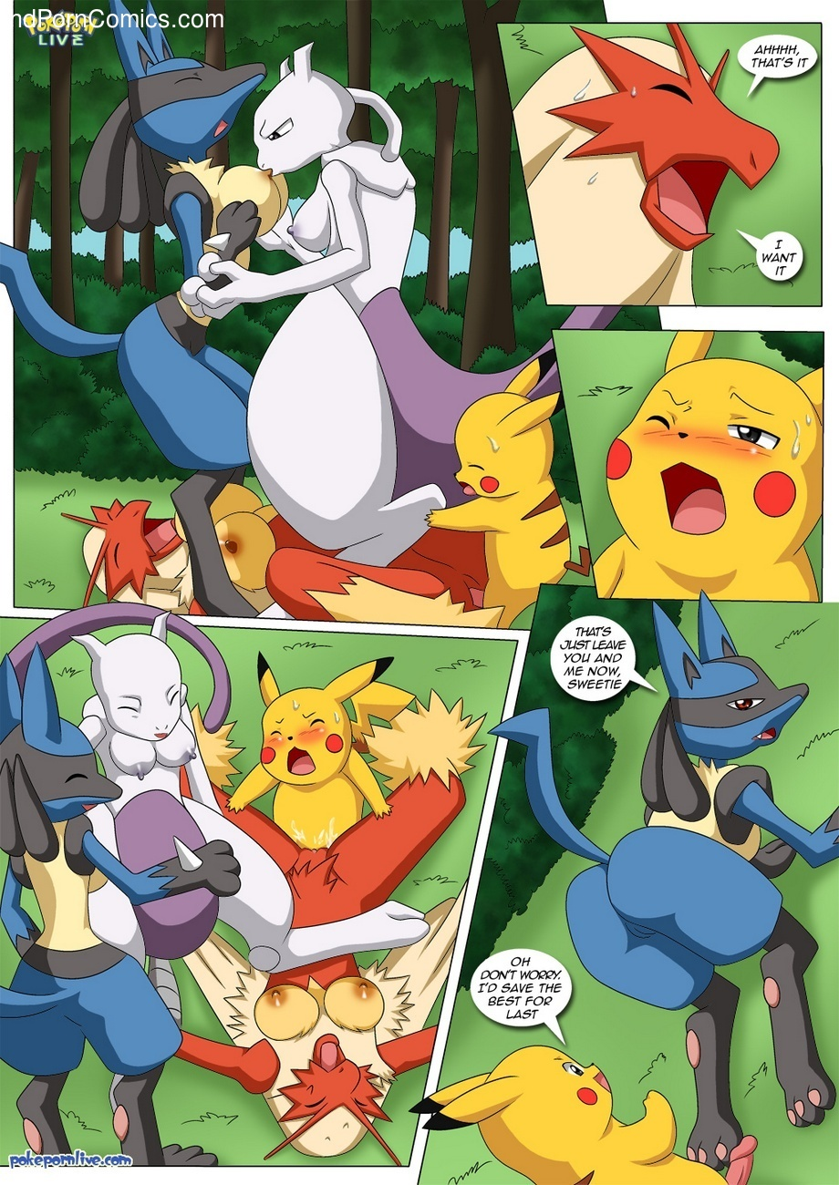 Pokemon Female Squad 8 free sex comic