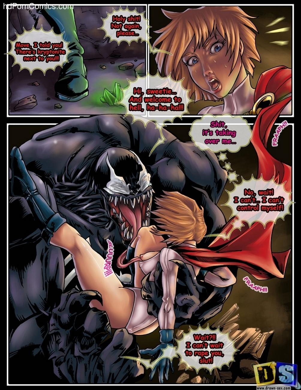 power girl sex comic