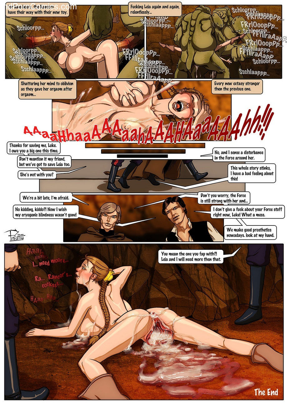 Princess Leia – Sex Toy Sex Comic