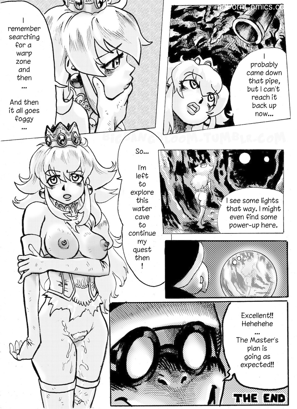 Princess Peach Wild Adventure 2 Sex Comic