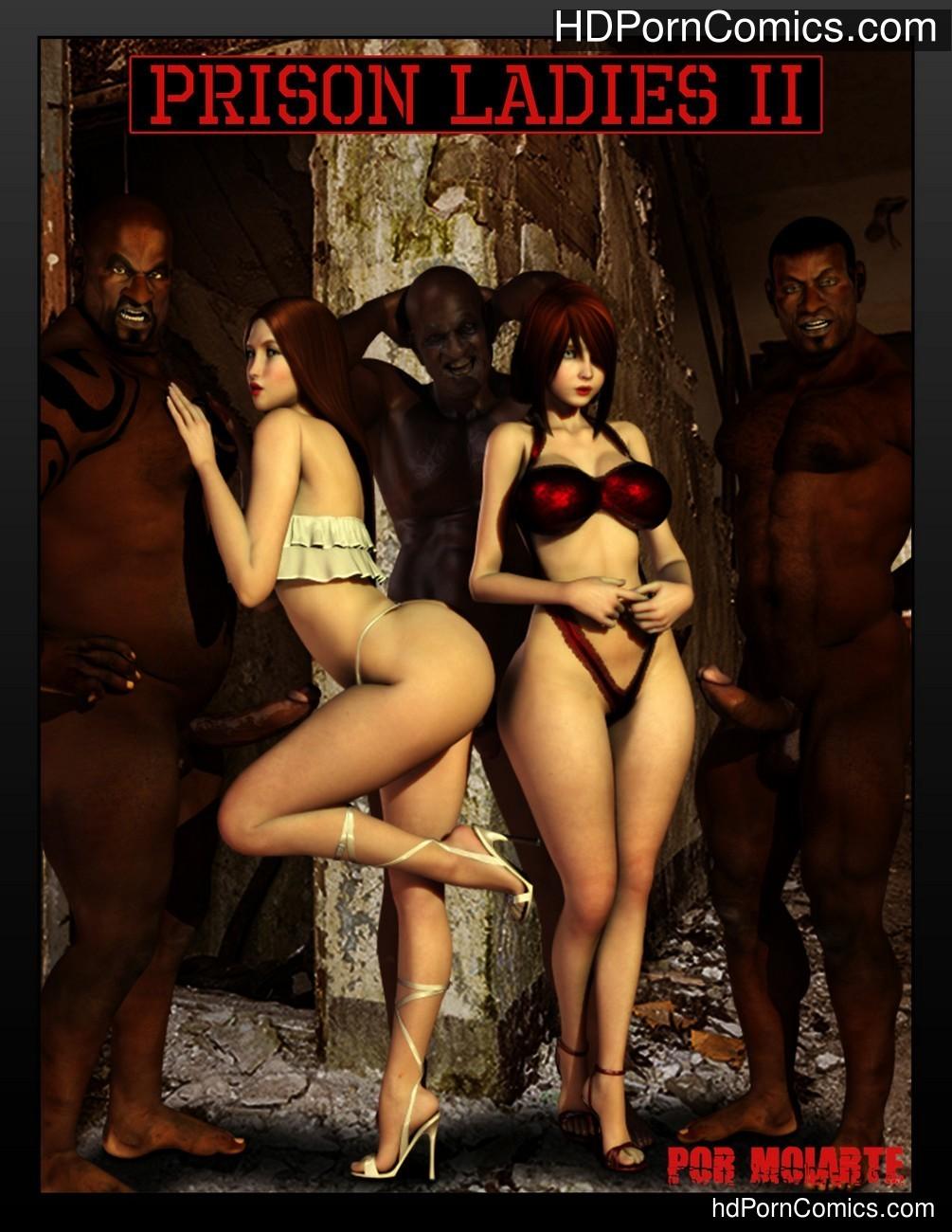 Prison Ladies 2 Sex Comic